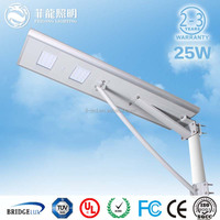 hot new products for 2015 5 years warranty strong power pv 25 w led off road light ,led street light all in one