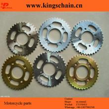 1045 acero AX100 GN25 coronas de motocicletas y cadenas