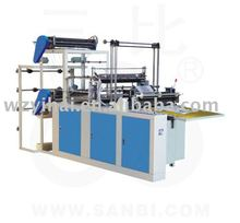 YHXJ-A600-1000 Computer Double Line Hot Sealing and Cold Cutting Bag Making Machine