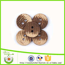 all types of buttons decorative coconut laser engraved buttons