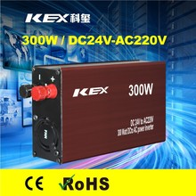 Multiple safe protections power inverter 300w dc 24v ac 220v low voltage protection KEX-3300