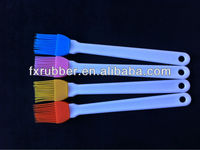 Food Grade kitchen use white handle small brush for baking