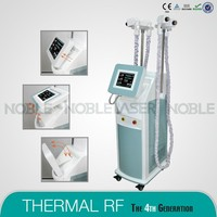 thermal RF face lift remove eye bags beauty machine with 6 handpieces