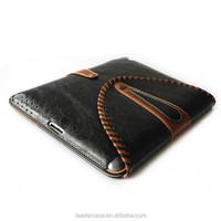 New Design Felt & Leather Sleeve Case for iPad Mini, Leather Cover for iPad Mini