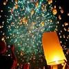 Eco sky lanterns wish balloons for wedding