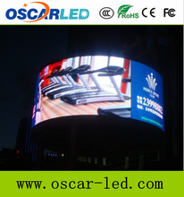 P16 Curved LED Screen &360 degree LED Display/Full Color LED Screen