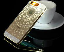 Trendy phone case,flash phone shell,Transparent PC material
