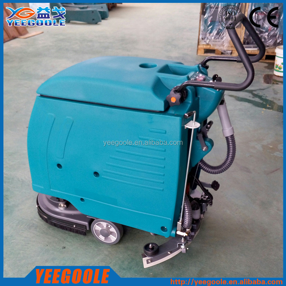 Floor sweeper concrete floor cleaning machine floor for Industrial concrete floor cleaning machines