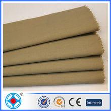 100% Cotton Plain Dyed Khaki Cloth Fabric Textile