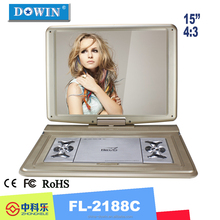 Worth Buying Competitive Price High Quality Portable DVD Player EVD Player with 3D Viewing Effect TV Function manufacture