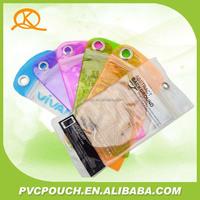 Hot sale flexible packing plastic transparent PVC printed plastic waterproof phone