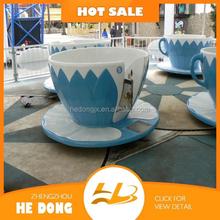 2015 Wonderful amusement rides fun indoor tea cup rides theme park rides for sale