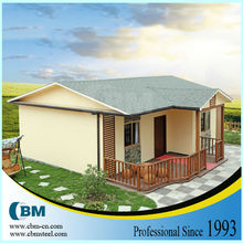 Brazil Single Storey Sandwich Panel Prefabricated House VH008