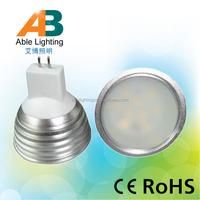 cold white 6000k 5630 smd mr16 gu5.3 led lamp 12v 5w