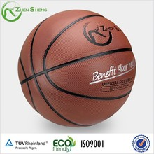 Zhensheng iso9001 basketball ball size 7