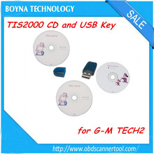 TIS2000 CD and USB KEY for G-M Programming working with G-M Tech2