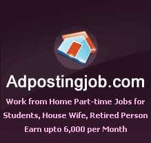 Home Based Internet Jobs. Earn upto Rs.9000 per month