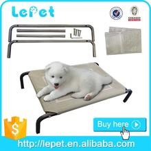 Manufacturer wholesale steel frame elevated dog beds for large dogs