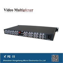 single fiber 32 channel small transmitter and receiver with single mode