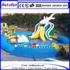 big top trampoline inflatable water ball pool funny pool
