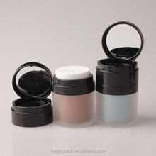 makeup air cushion bb foundation case with lighted mirror