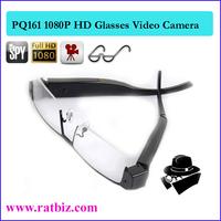 5MP CMOS lens 1080p full HD clear glasses spy hidden camera