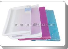 A4 PP clear transparent refillable pocket file folder presentation clear book for sale