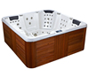 5 Persons balboa music system baignoire rectangular cheap freestanding whirlpool outdoor hot tub spa tub