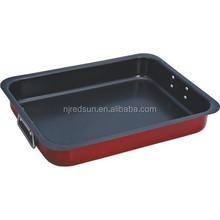 Cast iron baking tray/turkey baking pan/beef baking pan
