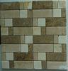 Travertine Beige Square Marble Mosaic Tile,marble flooring tiles wall tile design