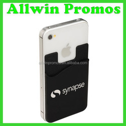 Promotional Silicone Smart Card Wallet 3M Sticky