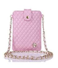 Fashion phone bag with earphone bags for mobile phone pvc waterproof phone bag