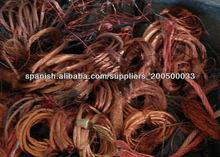 barato desechos de cables de cobre