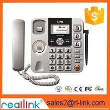 Tarjeta sim gsm inalámbrico fijo teléfono de escritorio precio más barato