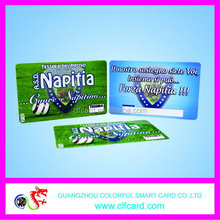 Branded best sell customized design printing pvc card