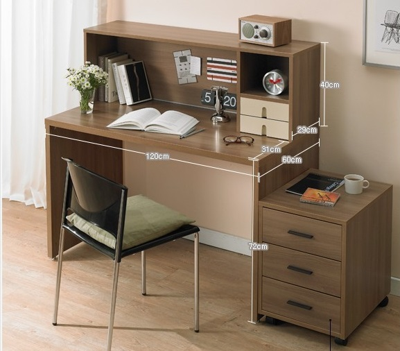 Drawing table with computer desk and bookcase Direct Manufacturer