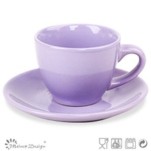 two tone stamp with Cup Saucer solid colour Cheap high quality modern style new design