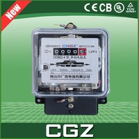 cngz 240V high precision single-phase watt hour energy meter