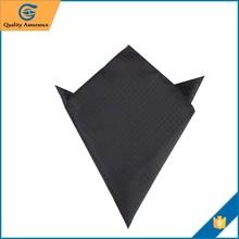 Fashion Polyester Black Handkerchief