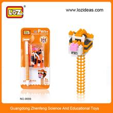 LOZ diy toy animals shaped promotional plastic ballpen
