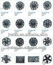 Modelo diferente de diferente tamaño de ventilador del condensador, ventilador de refrigeración