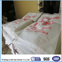25kg gold rice wholesalers BOPP laminated woven bags