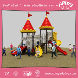 Neighbourhood together in group activity kids outdoor play equipment playground outside