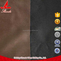 2015 High Quality Home Textile Faux Leather Upholstery Fabric