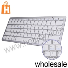Fashion Ultrathin Design Desktop Notebook Bluetooth 3.0 Multimedia Wireless Keyboard BCM20730