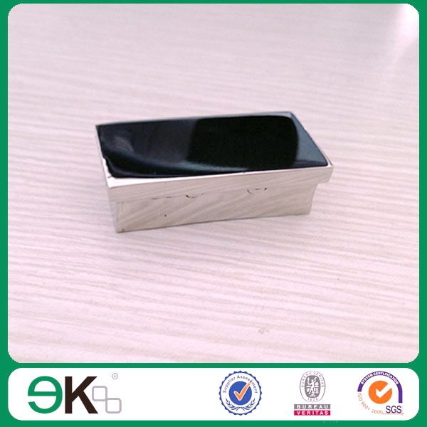 Stainless steel rectangular top rail end cap buy