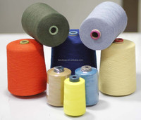 Aramid textile yarns and sewing thread