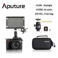 Aputure 198leds camera film shooting light CRI95+ most accurate color
