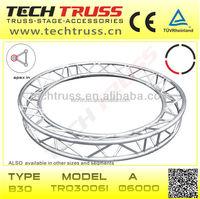 Apex in Triangle Truss Lighting Aluminum Truss Circle Round Trusses B30-TR03006I