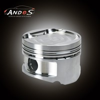 Forged Aluminum Pistons For Toyota 2J 2.5L Diesel Engine Piston